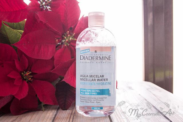 Agua Micelar hidratante de Diadermine