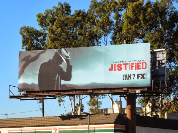 Justified series 5 billboard