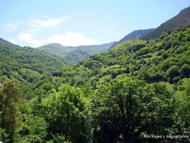 Valles que rodean la senda del oso, Asturias