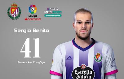 PES 2021 Faces Sergio Benito by CongNgo