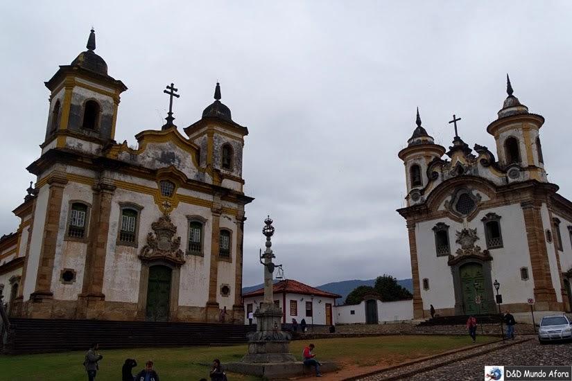 Praça Minas Gerais - Roteiro 1 dia em Mariana, Minas Gerais