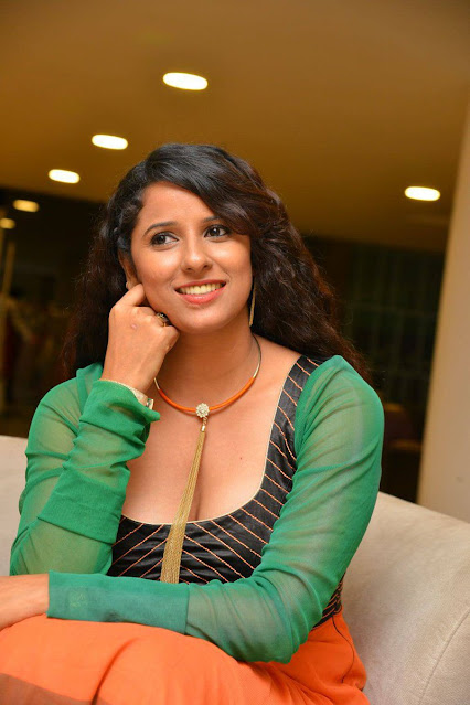 Telugu Actress Shraavya Reddy New Hot Cleavage Photos Actress Trend