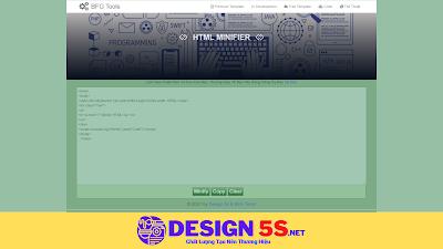 Hướng Dẫn Nén html, css, js Cải Thiện Tốc Độ website - Ảnh 1