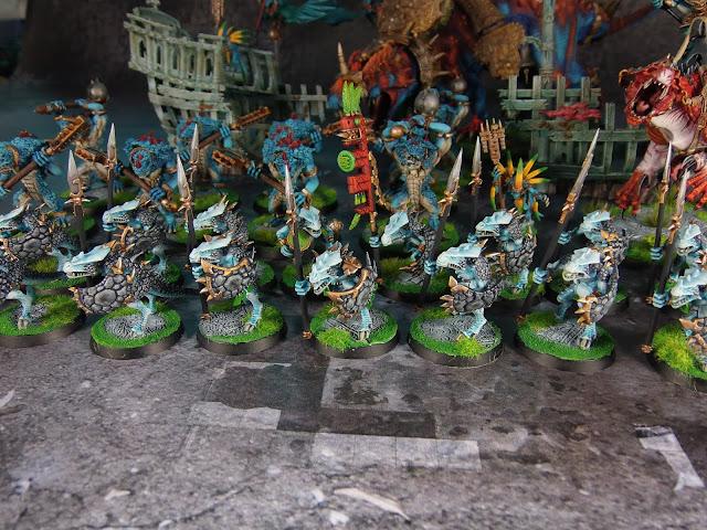 lizardmen saurus warriors