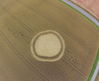 Crop circle fae non alien or ufo Kemmental, Thurgau, Switzerland - 7 July 2016