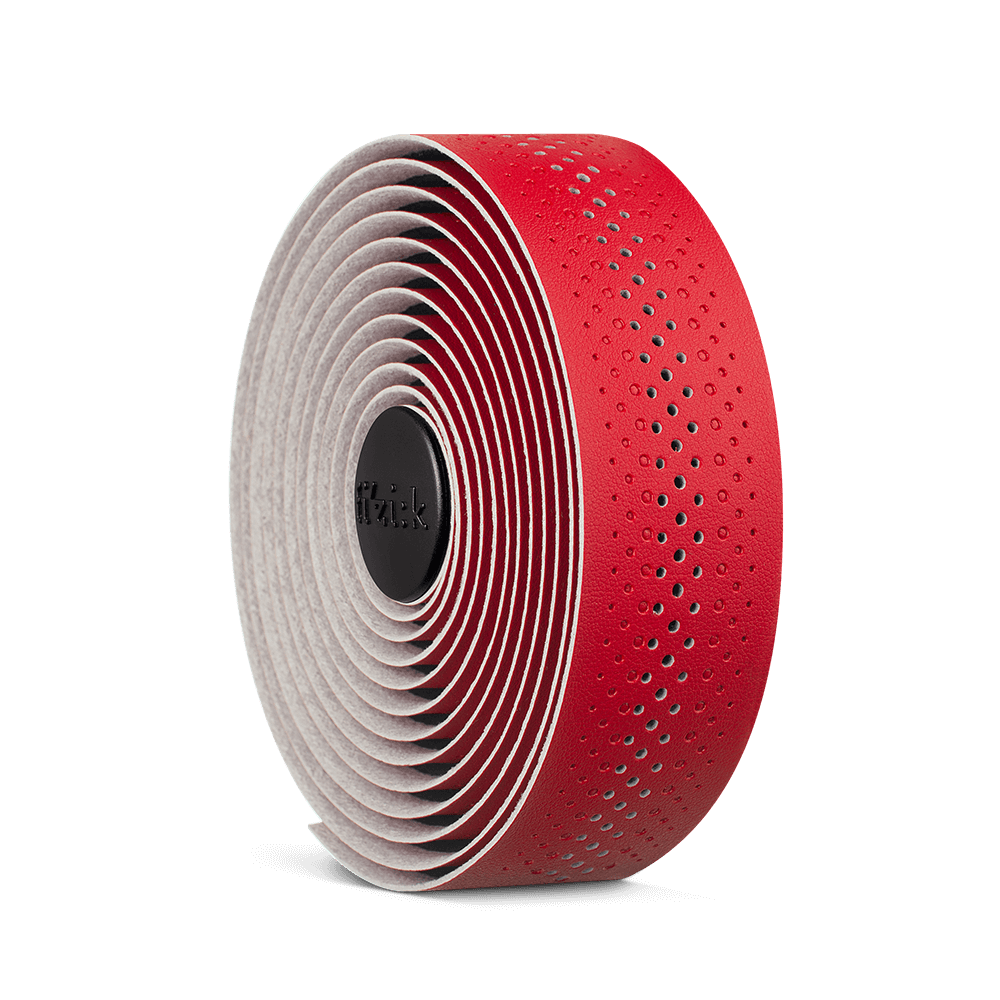 Red Fizik Tempo Classic Road Bike Bar Tape Microtex 2mm