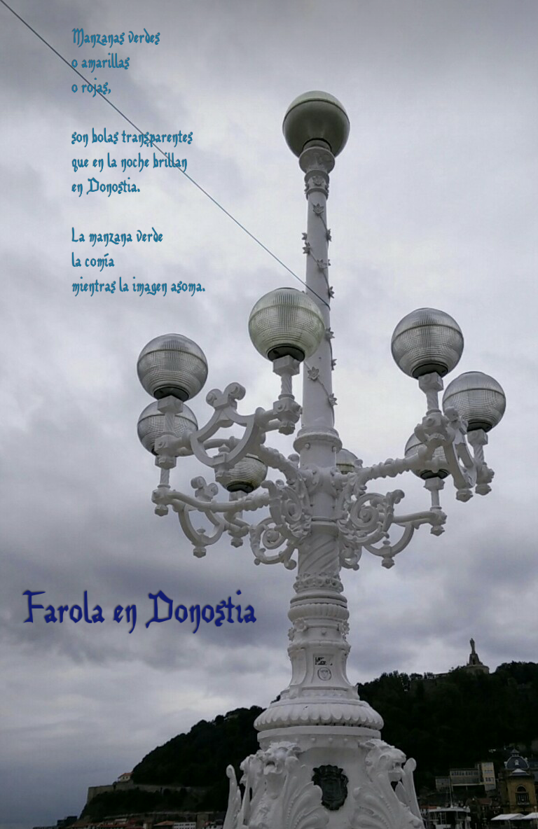 Farola en Donostia
