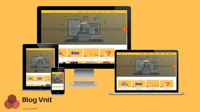 Template Blogger Landing Page Dịch Vụ Kết Hợp Blog Cá Nhân