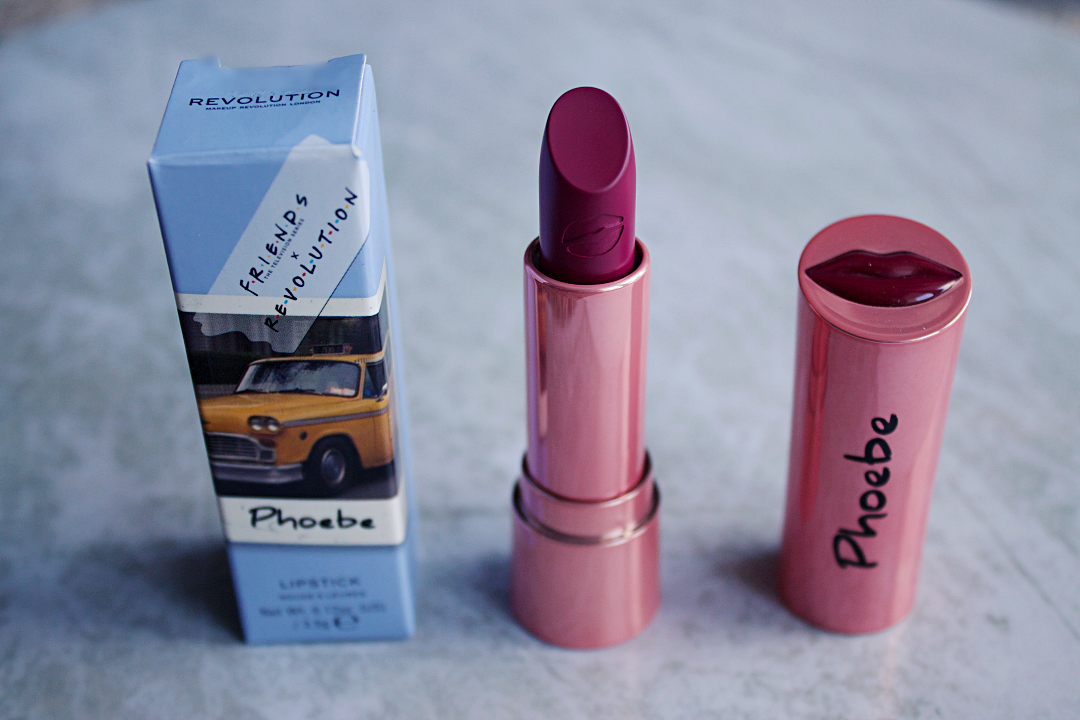 Makeup Revolution x friends Phoebe