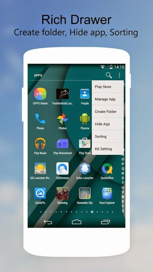 Software Rocket: KK Launcher Prime Android Highly ...