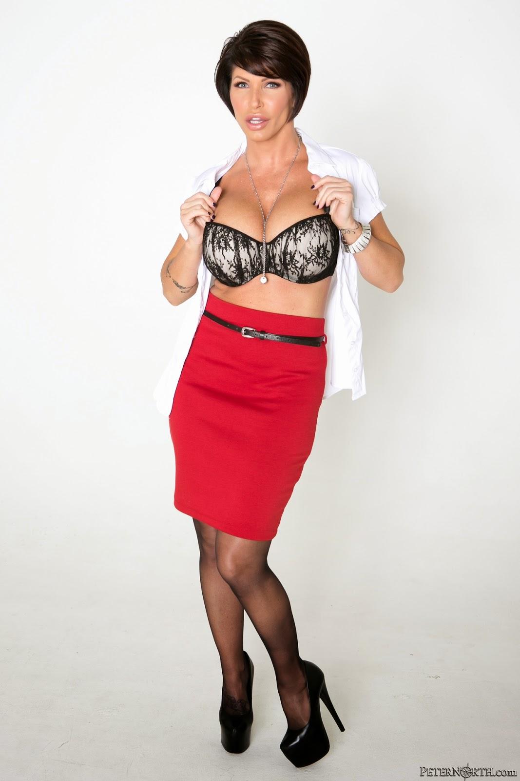 Hot Shay Fox in Black Underwear looking saucy   Shay Fox