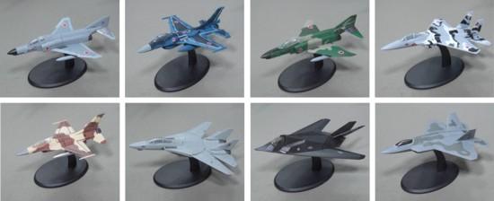 ミニチュア軍用機(UCCコーヒー最速の翼コレクション全8種)