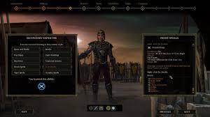 Tyranny, RPG, character sheet