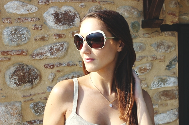 how to wear DITA Marseilles sunglasses