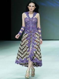 Model Dres Batik Terbaru Yang Elegan dan Modis