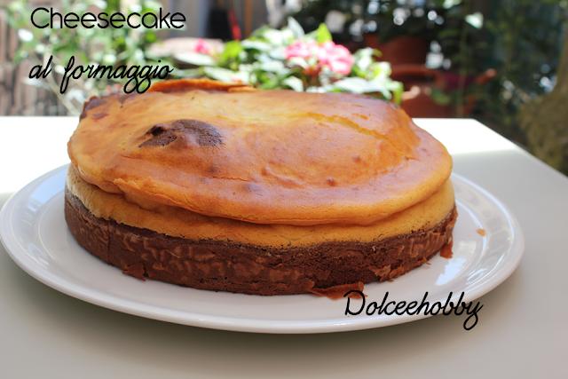 cheesecake al formaggio