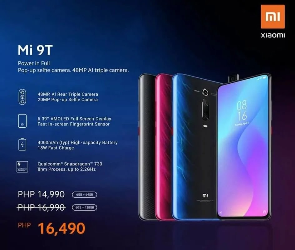 Xiaomi Mi 9T Price Drop Announced
