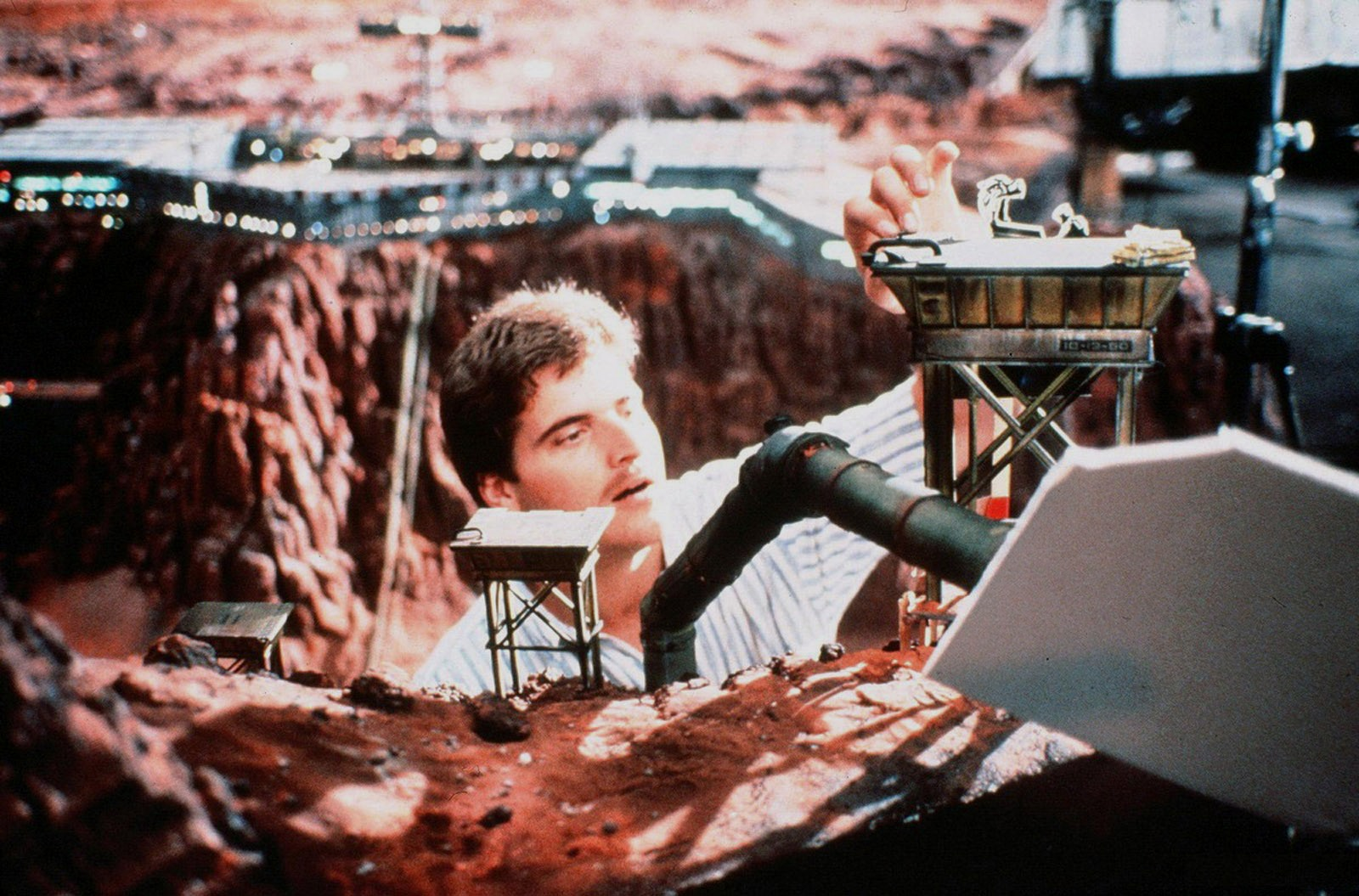 Incredible Miniatures For Total Recall 1990 Martian Landscapes Human Mars