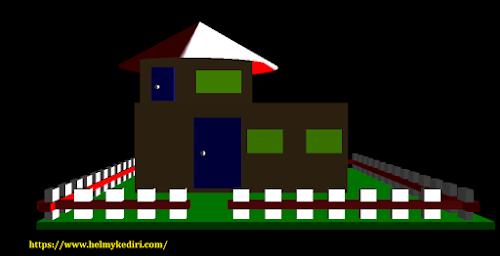 Membuat Rumah 3Dimensi