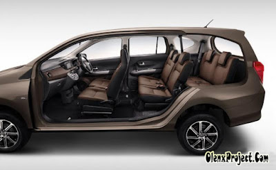 Dimensi Mobil Toyota Calya 2019