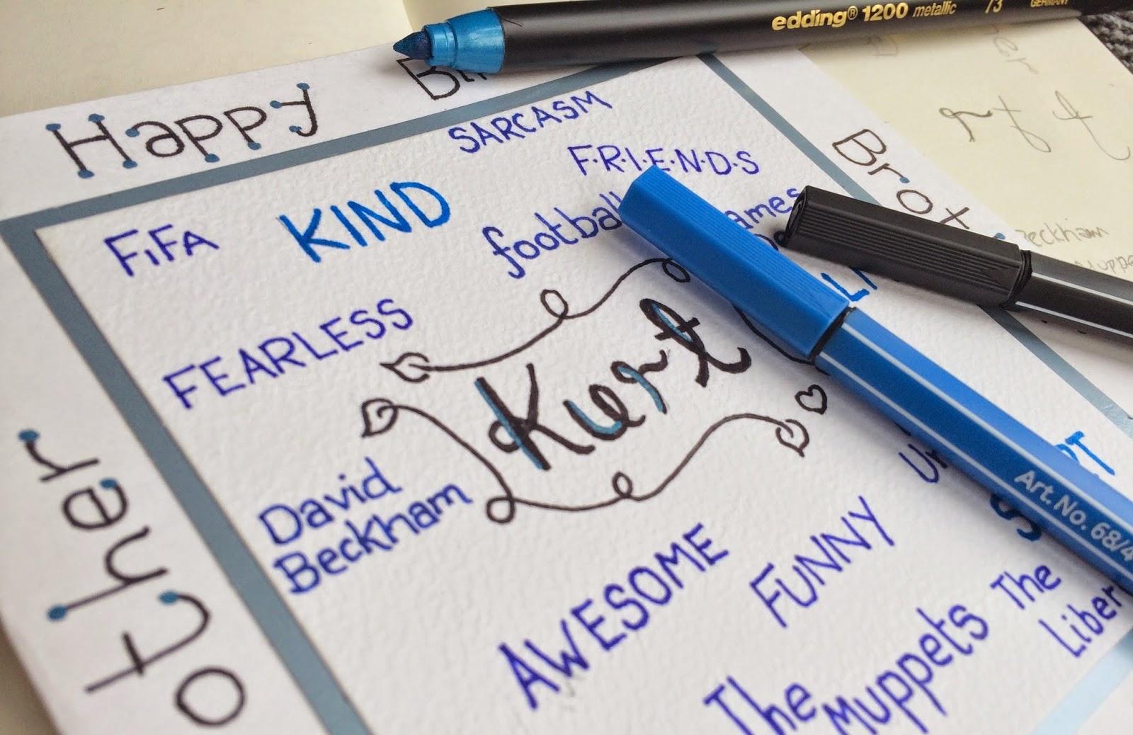 kurt-homemade-card-personalised