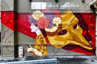Sunday Street Art : Retro - Hôtel des Comédies - rue d'Hauteville - Paris 10