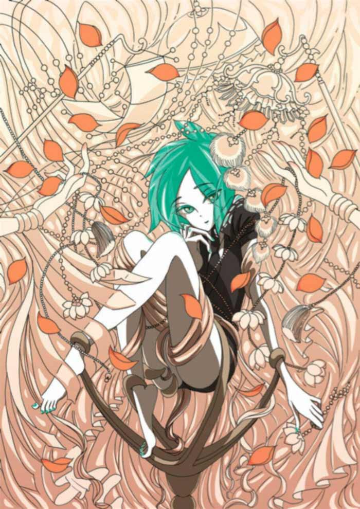 Houseki no Kuni (La tierra de las gemas) manga - Haruko Ichikawa