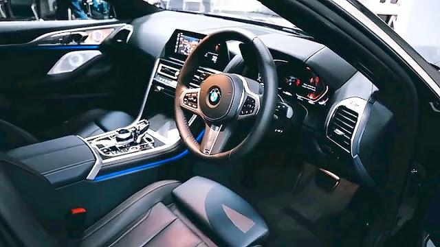 interior BMW 840i Gran Coupe