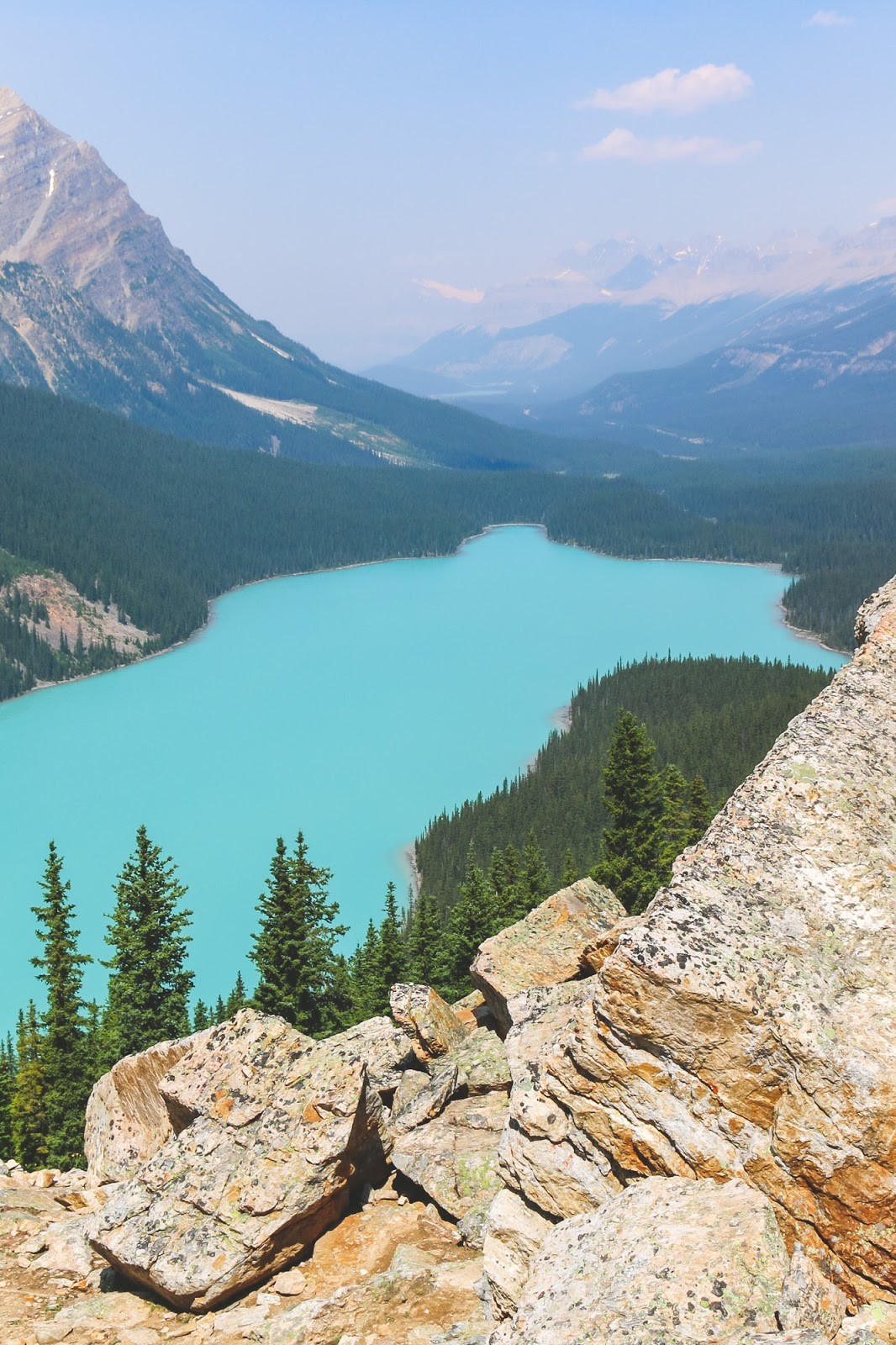The Best View of Peyto Lake   Banff National Park