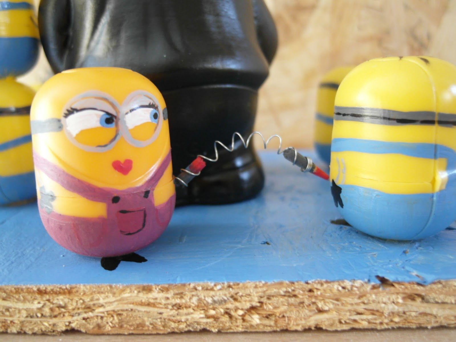 caf papote comment fabriquer des minions. Black Bedroom Furniture Sets. Home Design Ideas