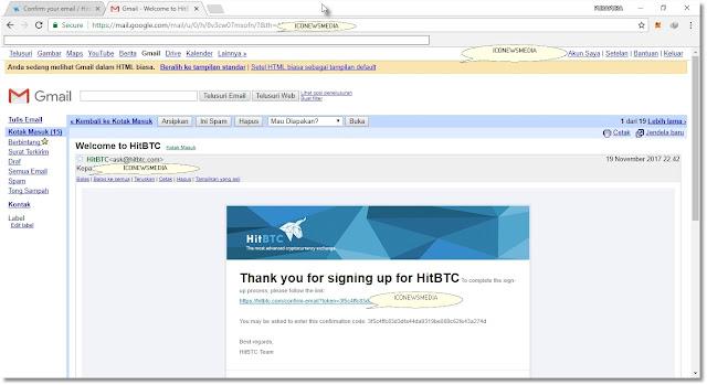 Cara membuat akun di HitBTC dengna mudah untuk trading cryptocurrency