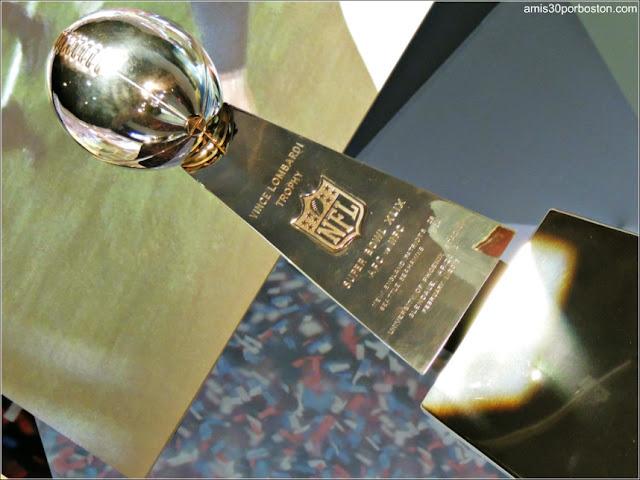 Trofeo Super Bowl XLIX