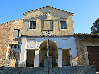 The Church of Santa Lucia in Montebicchieri