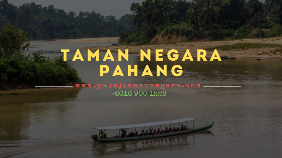 Pakej taman negara pahang 2022 , Kuala Tahan 2022
