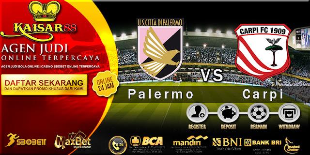 Prediksi Bola Jitu Palermo vs Carpi 25 Maret 2018