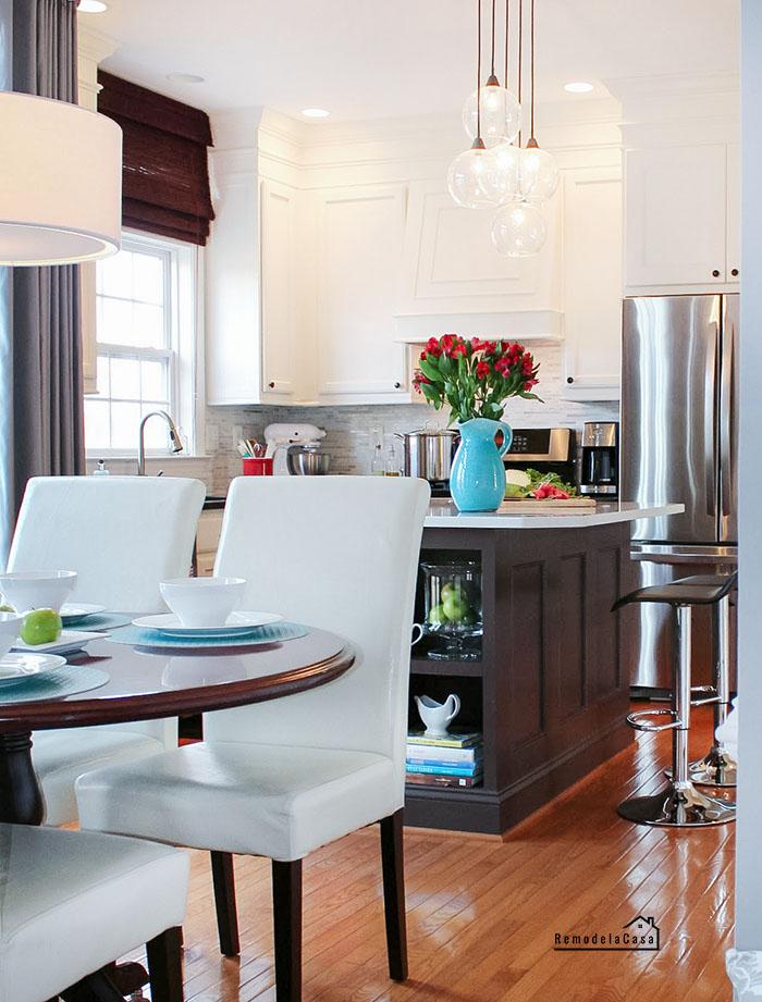 Modern kitchen makeover on a budget