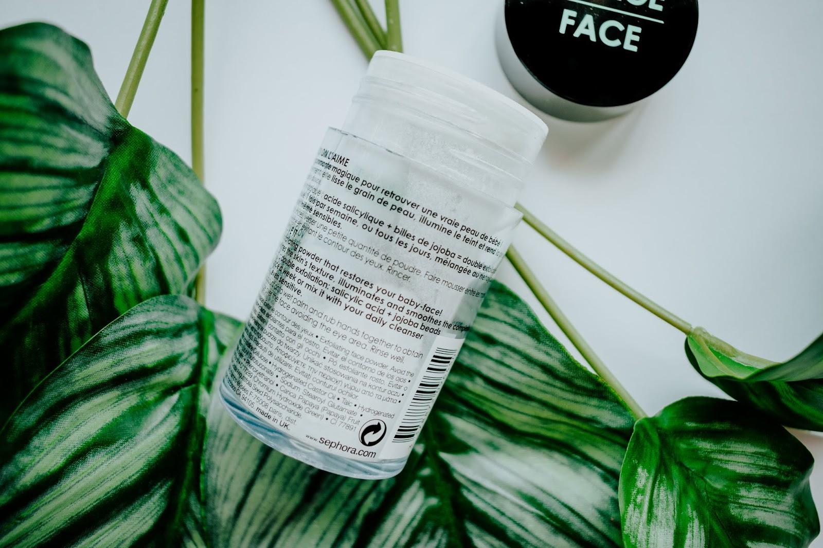 Metamophosis Exfoliating Powder Sephora exfoliante facial polvo 3