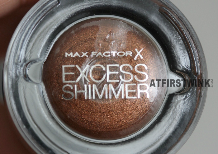 Max Factor Excess Shimmer 25 - Bronze eye shadow