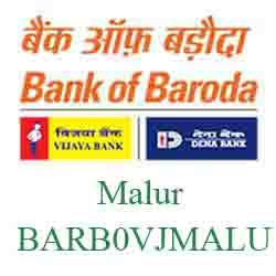 Vijaya Baroda Bank Malur Branch New IFSC, MICR