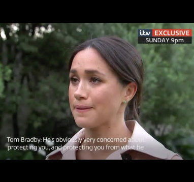 Meghan Markle gets emotional as she admits she has not been OK behind the scenes (video)
