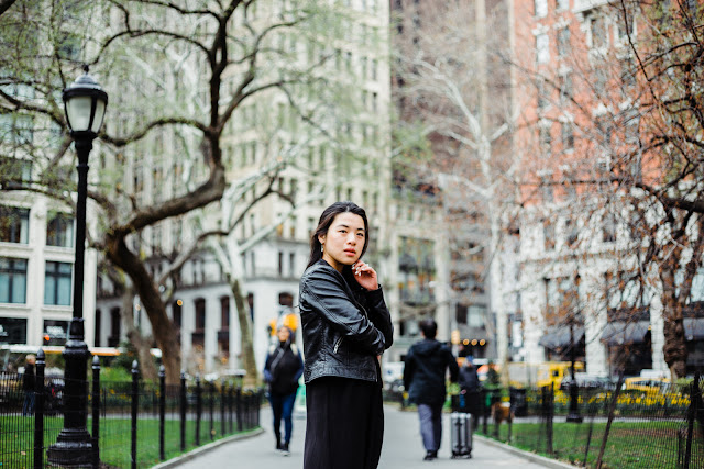 New York Street Style - Thuy Phamova - Bridge of Memories