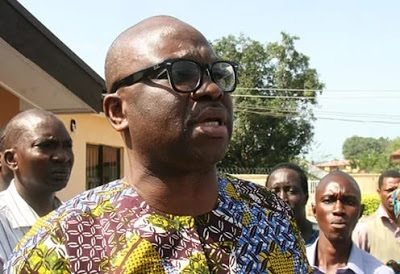 There is hunger in the land, listen to our cries - Fayose tells Buhari