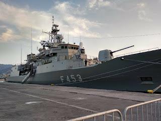 Στην Μυτιλήνη η φρεγάτα του Πολεμικού μας Ναυτικού «Σπέτσαι»