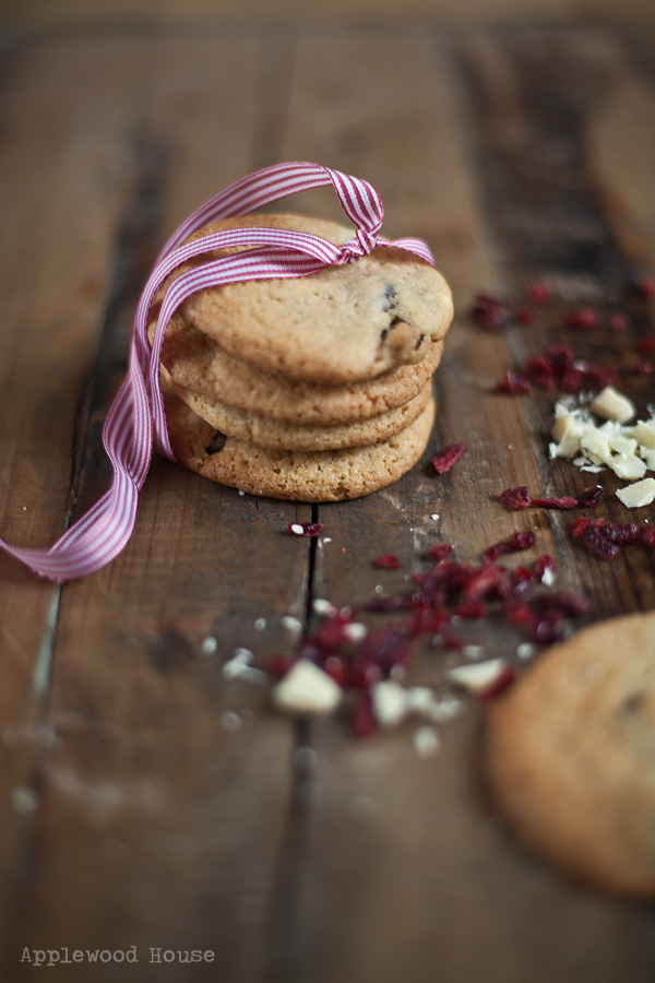 Cranberry Cookies Applewood House