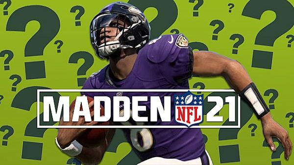 Madden NFL 21 Cover Athlete