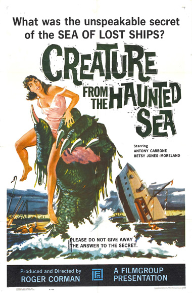 Poster - Creature from the Haunted Sea (1961)