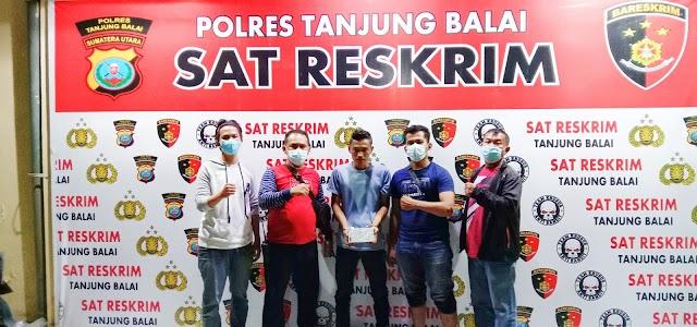 Terekam CCTV, Pembobol ATM Diamankan Polres Tanjungbalai
