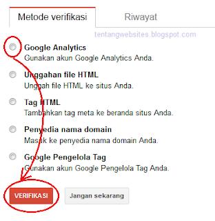 buat alat webmaster google