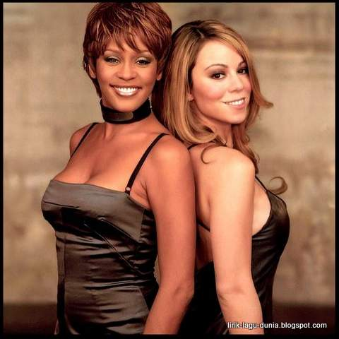 Whitney Houston dan Mariah Carey