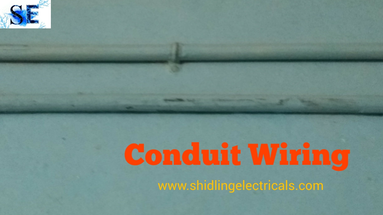 small resolution of if conduits installed on the wall it is known as surface conduit wiring in this wiring method conduit pipes are fixed on walls and roof with the help of